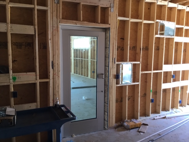 Classroom doorway